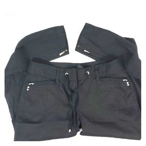 White House Black Market Crop Leg pants